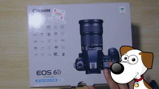Canon EOS 6D Unboxing فتح علبة الكانون 6 دي أنبوكسنج