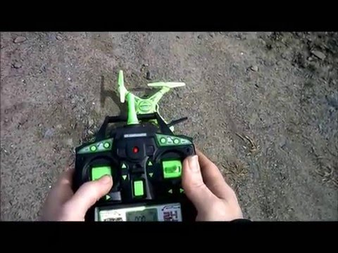 Glow in the Dark Striker General Flight Review World Tech Toys