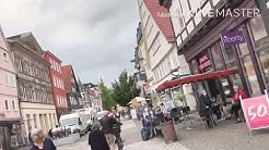 Detmold shopping place in Germany