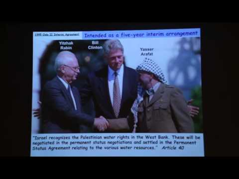 Water Issues in Israel & Palestine