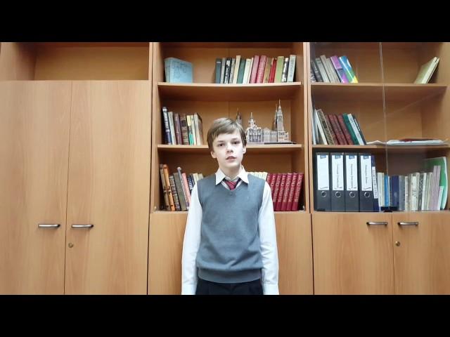 Изображение предпросмотра прочтения – АндрейКритский читает отрывок изпроизведения «Бородино» М.Ю.Лермонтова