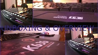 Marvo gaming keyboard unboxing & first look(k636).....