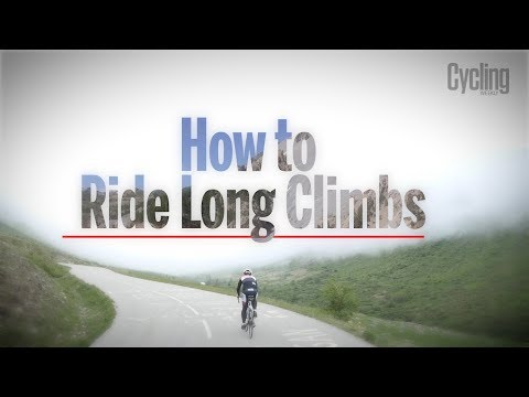 How To Ride Long Climbs   Cycling Weekly