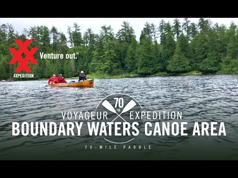 Boundary Waters Canoe Area Canoeing Adventure by 4XPEDITION