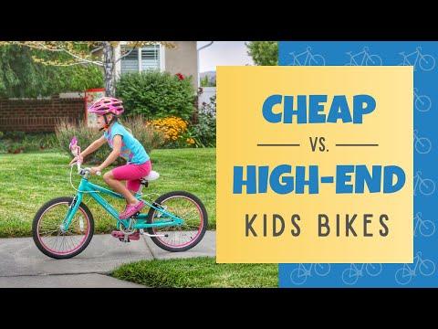Cheap Kids Bikes vs. High-end Kids Bikes: Geometry