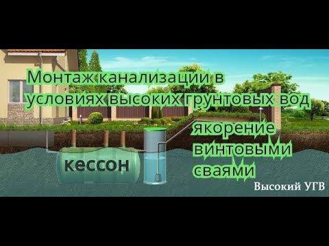 Кессон для погреба - YouTube