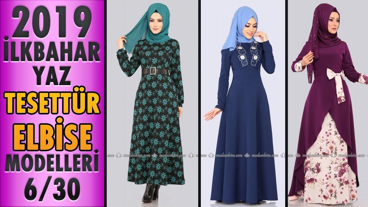 16ad2339b820f #Modaselvim İlkbahar Yaz Tesettür Elbise Modelleri 2019 - 6/30 | #Hijab  #Dress | #tesettür #elbise - modanzi tesettür - imclips.net