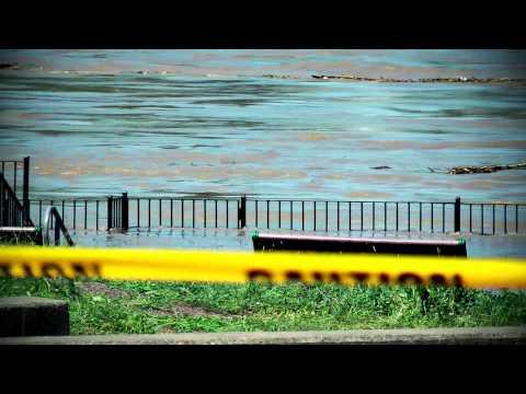 Troy New York Hudson River Flooding.mp4