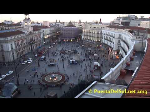 2013 Puerta Del Sol Madrid Rooftop Views