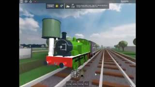 ROBLOX: Here comes Oliver the Great Western Engine!!!!