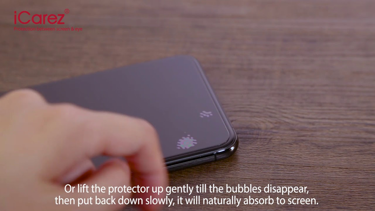 How to remove the ramining bubbles - Phone Glass Protector