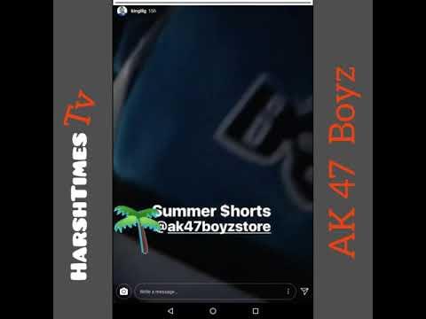 New Clothing From King Lil G AK 47 Boyz