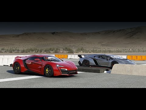 Lykan HYPERSPORT vs Lamborghini Veneno Drag Race | Forza 6