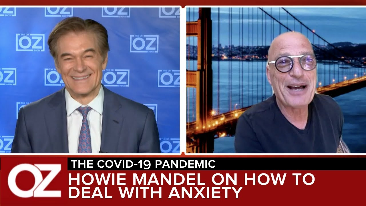 Howie Mandel on how to deal with Anxiety during rhe Corona Outbreak