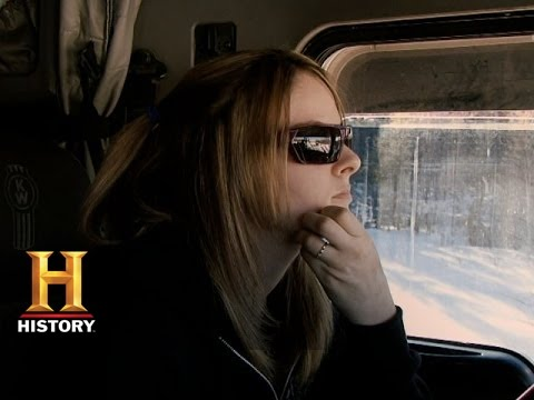 Ice Road Truckers: Lisa Almost Falls Through the Ice (S9, E4) | History