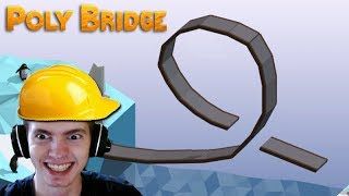 A PONTE do LOOPING IMPOSSÍVEL!!! - Poly Bridge