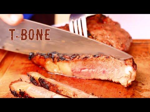 como preparar um T-Bone