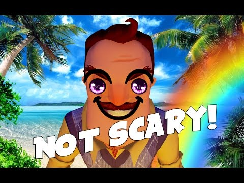 How to make Hello Neighbor Not Scary! thumbnail