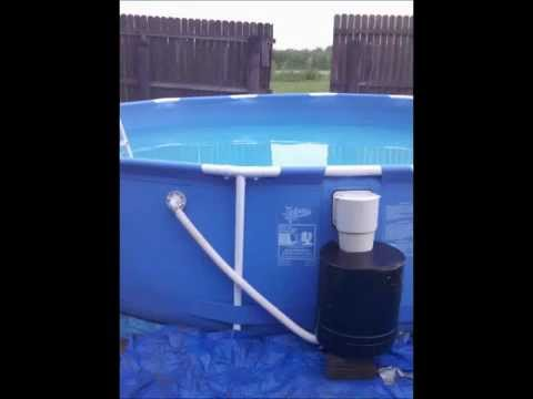 Brown Water Help Homemade Pool Filter Youtube
