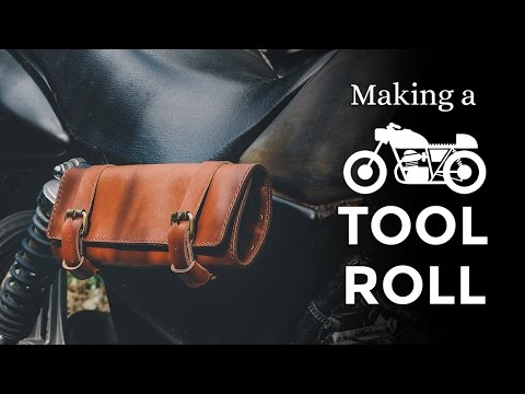 Making A Motorcycle Tool Roll Bag Week 20 52