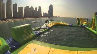 Inflatable water park Dubai