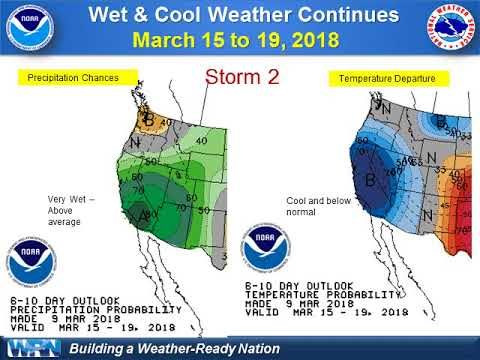 Wet Saturday Weather and Possible Stronger Storm Late Next Week - NWS San Diego