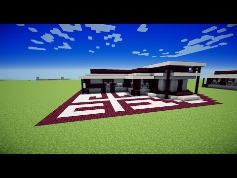 Episode 1 s rie craft d co maison moderne minecraft for Maison moderne minecraft xbox one