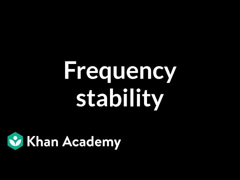 Frequency stability #1