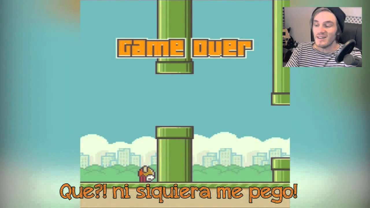 FLAPPY BIRD PEWDIEPIE ESPAÑOL - YouTube
