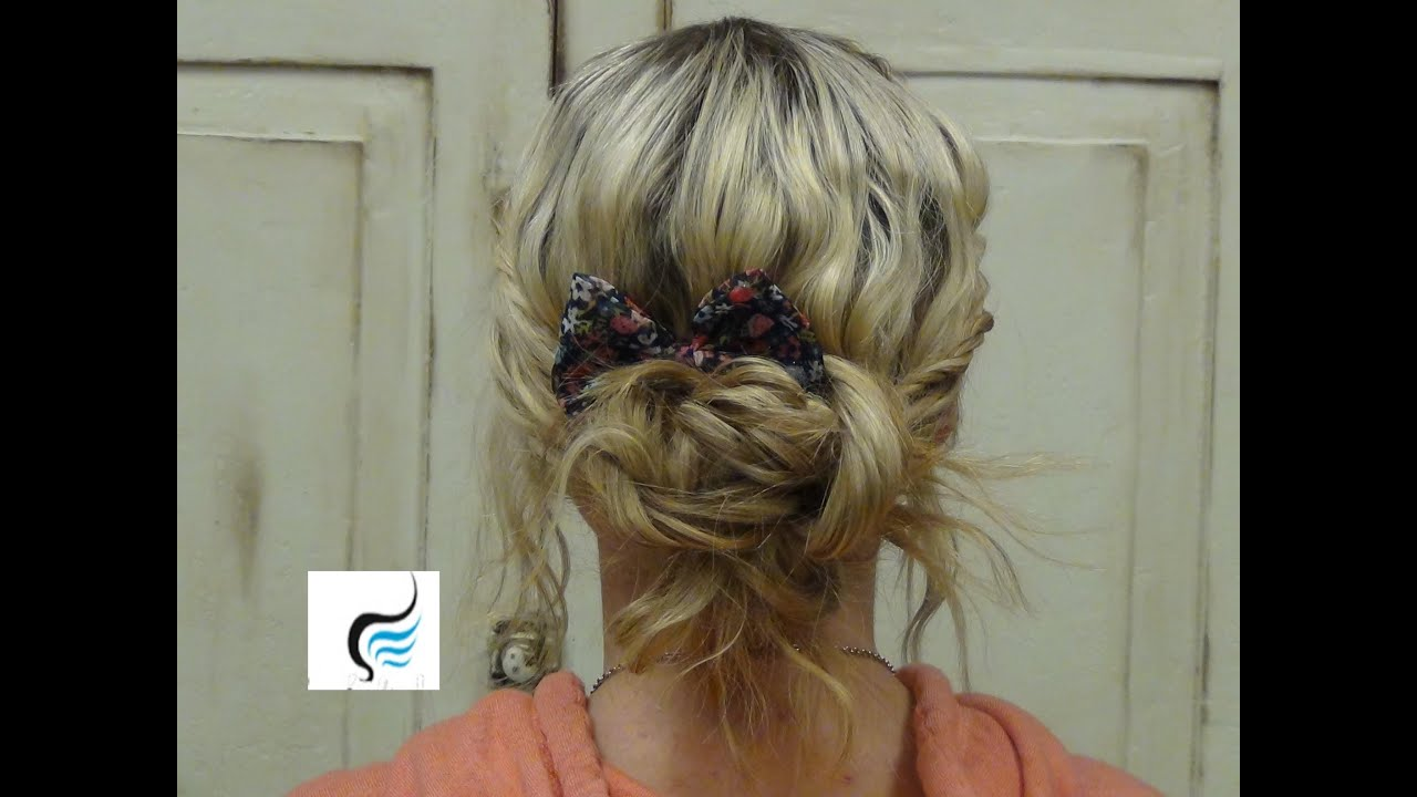 (Updo Hairstyles) With Front Twist Haircut