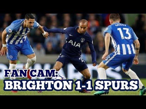 FAN CAM: Brighton & Hove Albion 1-1 Tottenham Hotspur VLOG - 17 April 2018