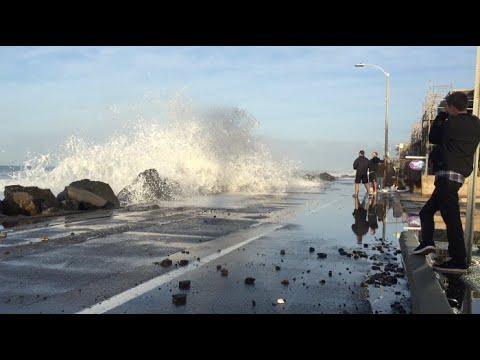 El Niño Gives Glimpse Of Sea Level Rise On San Diego Beaches