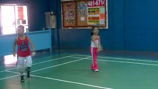 Elijah & Shekinah Badminton