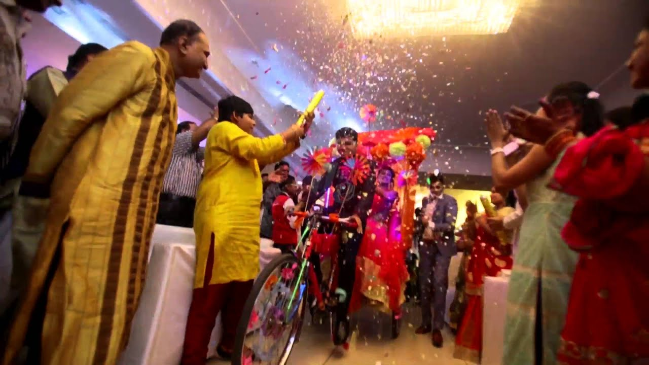 Special Entry Of Bride And Groom In Sangeet By Digheevents