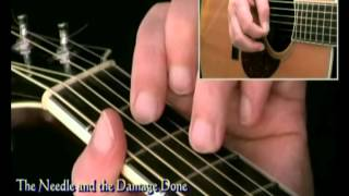How To Play Neil Young Needle and the Damage Done (intro only)