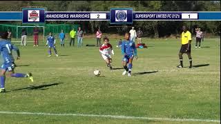 WANDERERS WARRIORS FC vs SUPERSPORT UNITED FC U12'S