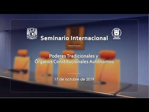 Poderes Tradicionales Y Órganos Constitucionales Autónomos, IIJ-UNAM (1/6)
