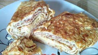 Самый вкусный и быстрый завтрак Японский омлет | Рецепты похудения