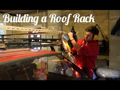 Mongol Rally Car - Building a Roof Rack - YouTube