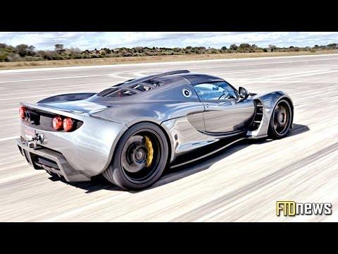 World's Fastest Car - Hennessey Venom GT - 270.49 mph
