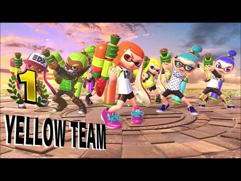 Super Smash Bros. Ultimate - Team Victory Poses - Part 2 thumbnail