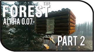 The Forest Gameplay Part 2 - Glitched Treehouse! (v0.07)