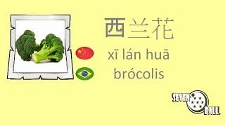 Vegetais em Chinês - 蔬菜用葡萄牙语 - Parte 2 thumbnail