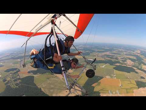 Hang Gliding: Experience World From Bird's-Eye View