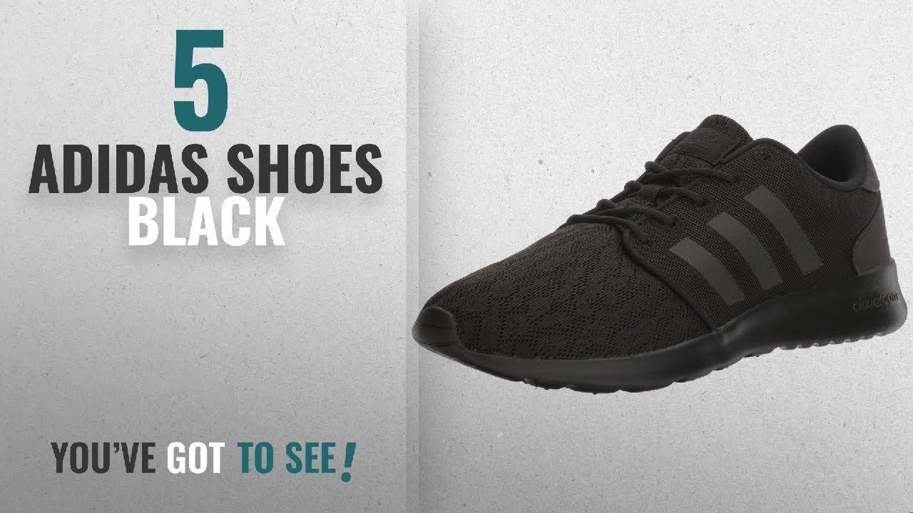 ec4106c4687 Top 5 Adidas Shoes Black  2018   adidas Originals Women s Cloudfoam QT  Racer W Running Shoe