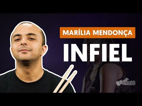 Infiel - Marília Mendonça (aula de bateria)