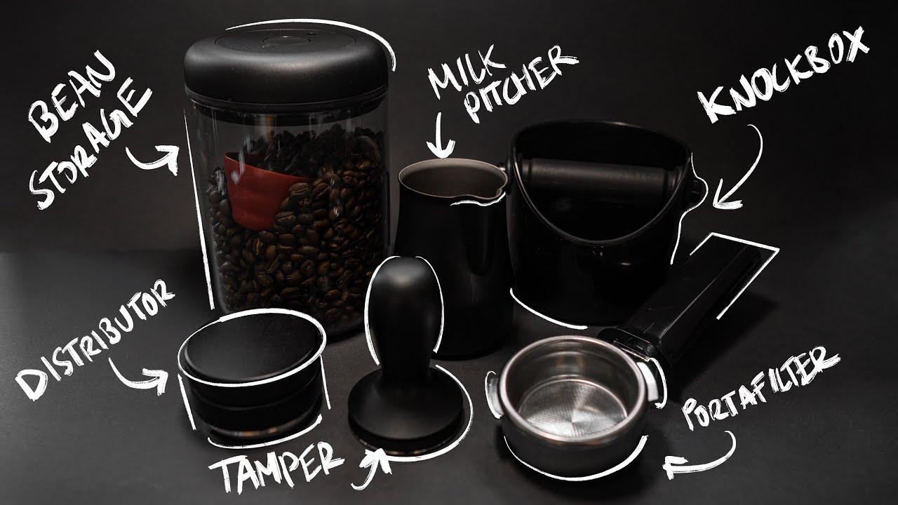The Matte Black Essential Espresso Kit