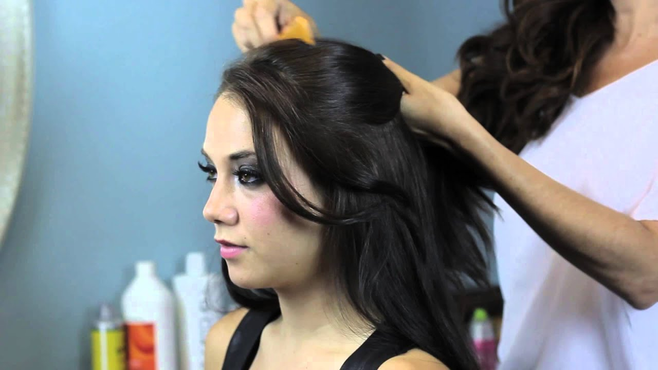How To Wear A Banana Clip Dress Your Tresses Youtube
