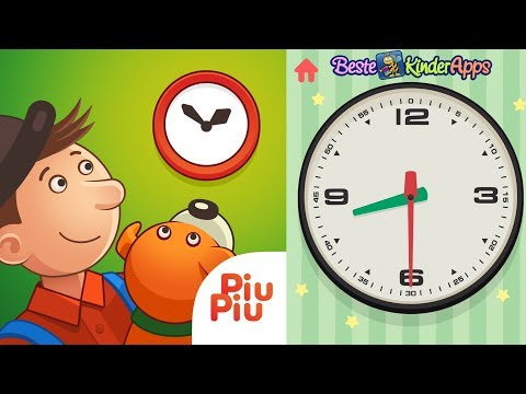 Learning the clock for small children in German - Learning the clocks german language from YouTube · Duration:  2 minutes 28 seconds