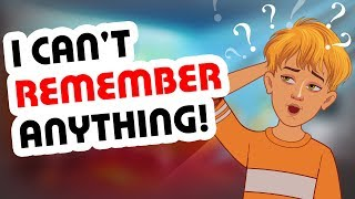 I Can't Remember Anything | Real Life Story | True Story Animated | Story Booth Cartoons